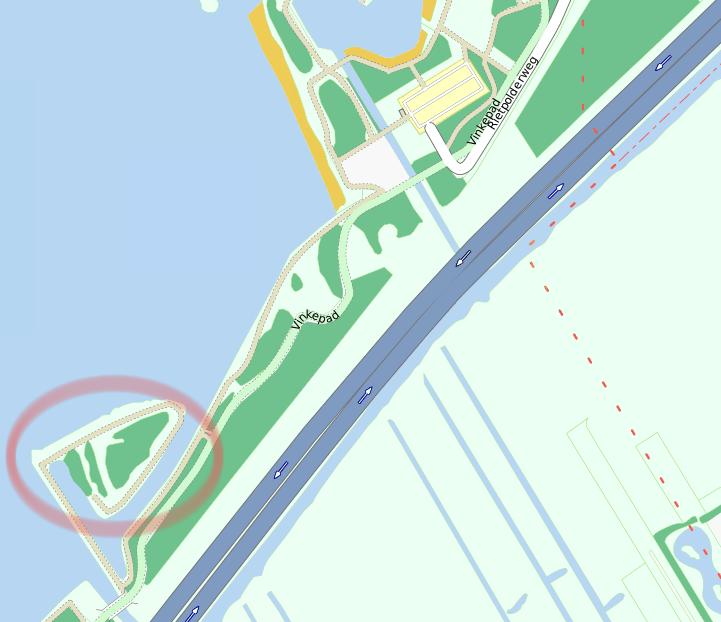 Locatie van Het Klimeiland